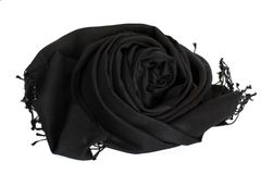 Black scarf Stock Image