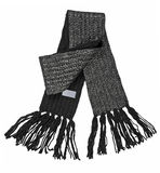 Black scarf Royalty Free Stock Photo