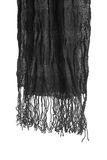 Black scarf Stock Photography
