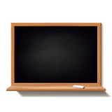 Black school board Royalty Free Stock Photography
