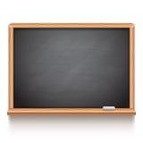 Black School Chalk Board Stock Image