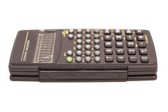 Black scientific calculator Stock Image
