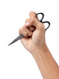Black scissors Royalty Free Stock Photos