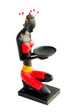 Black sculpture Royalty Free Stock Photography