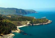 Black sea. Vea to the Black sea in Turkey Stock Image