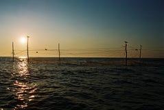 Black sea. Trawl in black sea Romania royalty free stock image