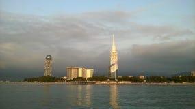Black Sea in Adjara Royalty Free Stock Photo