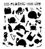 Nature Ecology Pollution stock illustration