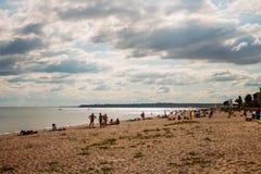 Black Sea beach Royalty Free Stock Photography