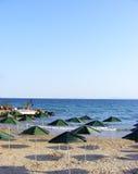 Black sea beaches Royalty Free Stock Image