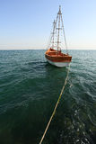 Black Sea Boat Stock Photography