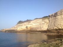 Black Sea. Cliffs on the Black Seaside, Turkey Stock Photo