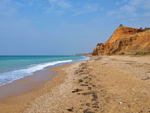 Black Sea coast Stock Images