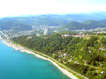 Black sea coast stock photography