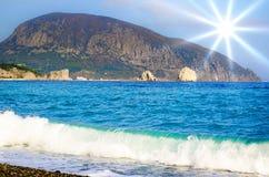 Black Sea Coast Royalty Free Stock Images