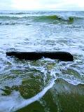 Black Sea coast. Black Sea view in Russia stock images