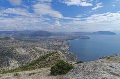 Black Sea coast. Crimea, September. Royalty Free Stock Photography