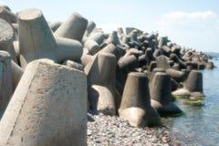 The Black Sea coast fortified, Bulgaria Royalty Free Stock Photos