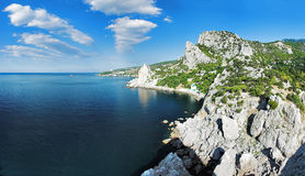 Black Sea Coast In Crimea Stock Photography
