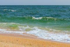 Black Sea coast. Stock Photos