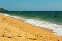 Black Sea coast. Royalty Free Stock Images