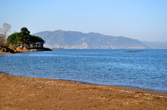 Black Sea coast from Ordu, Turkey Royalty Free Stock Photo