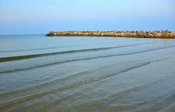 The Black Sea coast ,  Romania Stock Image