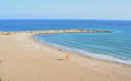 The Black Sea coast ,  Romania Royalty Free Stock Images