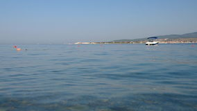 Black Sea Coast stock video footage