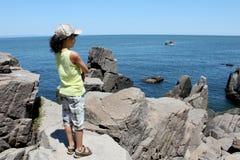 The Black sea coast Stock Photography