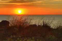 Black Sea Coast sunrise Royalty Free Stock Photos