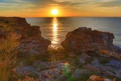 Black Sea Coast sunrise Stock Photo