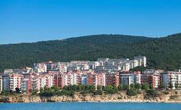 Black sea coast, Sveti Vlas, Bulgaria Stock Image