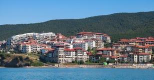 Black sea coast in Sveti Vlas, Bulgaria Stock Photos