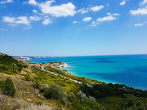 Black sea coast Royalty Free Stock Images