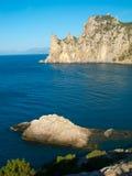 Black Sea coastline Royalty Free Stock Photo