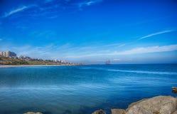 Black Sea. Constanta - Romania 2014 Royalty Free Stock Photo