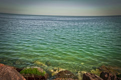 Black Sea. Constanta - Romania 2014 Stock Photo