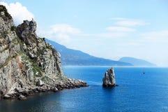 Black Sea Crimea Stock Photography