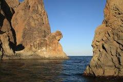 Black Sea, Crimea Stock Image