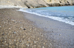 Black sea in Crimea royalty free stock photo