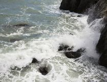 Black Sea crimea gurzuf fotografering för bildbyråer