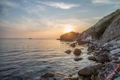 Black sea. Crimea Stock Photos