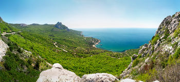 Black sea Crimea. Ukraine stock photography