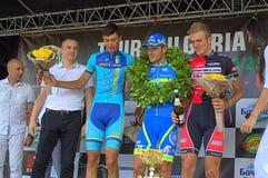 Black Sea Cycling Tour winners Stock Photo