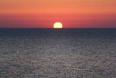 Black Sea Dawn. Sun rise over the Black Sea Royalty Free Stock Photo