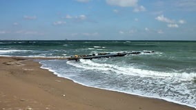 Black sea stock video