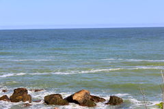 Black Sea. Excellent view for the desktop or filling your site blog on the marine theme Royalty Free Stock Photography