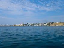 Black Sea Fleet warships on the Sevastopol Bay Royalty Free Stock Photography