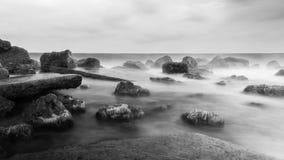 Black Sea fortfarande royaltyfria bilder